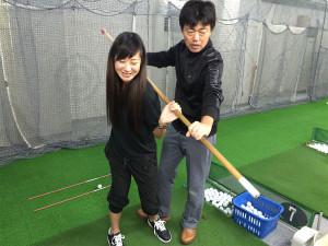 初めてのゴルフレッスン体験!