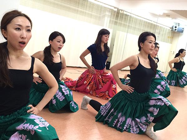 ミズフラスタジオフラダンスの体験レッスン