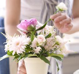 【春コース募集中✿】かわいいお花に癒されよう♪FADAプライマリーディプロマ取得コース