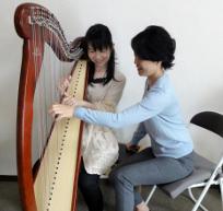 【とりあえずハープを弾いてみたい方★】1曲チャレンジコース【憧れのあの曲をハープで演奏!】
