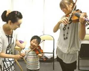 親子バイオリン  蒲田音楽学園