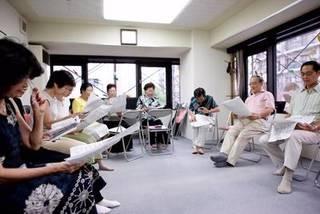 蒲田音楽学園の歌声喫茶