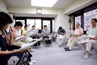 蒲田音楽学園の童謡カフェ