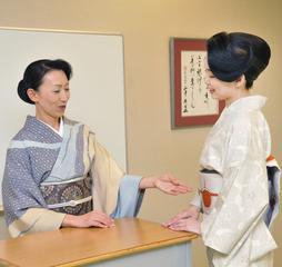 礼法講師の資格が取得できる★ 礼法講師養成コース(全88教程)