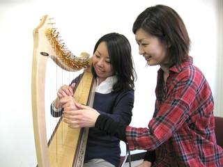 青山ハープ(株)ハープ教室&nbsp 東京ハープ教室