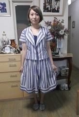 自分の好きなデザインで体型ピッタリの洋服が作れます♪【女性限定】【月謝制】