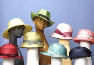 好きな布で作る帽子24種類マスターコース(初等科)自由科