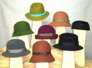 新春を楽しむフエルト帽子 一日体験講座