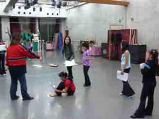 駅前で子供ミュージカル・演技・歌・TAP・など多数
