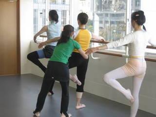 表参道で、大人から始めるクラシックバレエ「土曜基礎クラス」