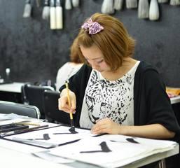 青霄書法会&nbsp【難波教室】なんば駅よりスグ!大阪の書道教室