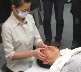 顔の反射区から全身に働きかける「フェイシャルリフレクソロジー」