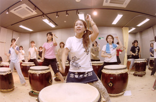 和太鼓ビギナーズ教室(初級、中級、子ども、シニア等も開講中)