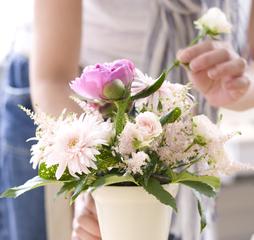 【春クラス受付スタート☆】生活の中に花を♪資格FADAプライマリーディプロマ取得コース