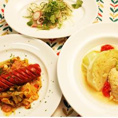 野菜が美味しい豊かな料理