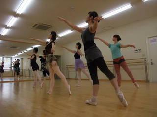 ★神戸珠利★バレエ★バリエーションクラス