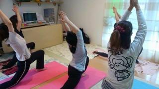 【7/28】マザーズループで「氣流しヨガ教室」始めます!!