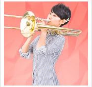 スライドすることで音を変化させるトロンボーンは、さまざまな音を楽しめる愉快な楽器です