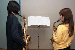 憧れの楽器に挑戦! サックスコース