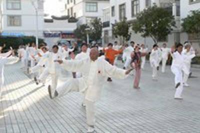 日本中国友好協会 太極拳