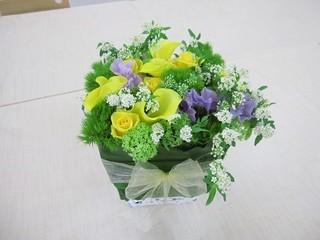 癒しフラワーアレンジメントレッスン 名東区上社