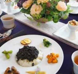 お花とお料理とテーブルコーディネイトのコース