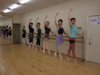 ★バレエ上級クラス