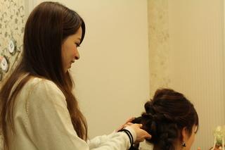 プロのヘアメイクを学ぶ!体験レッスン