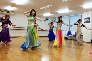 1回、1000円で基礎から始めるベリーダンス講座/木曜日