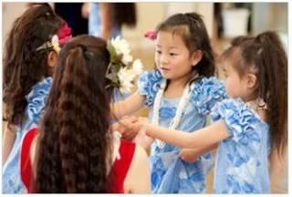 可愛いKeiki(子供)フラダンスで豊かな感性を【新宿本校】
