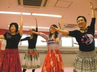 【渋谷】今大人気のフラ&タヒチアンダンス!初心者大歓迎♪【体験料2160円】