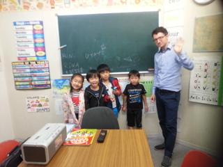 バイリンガルを目指す幼児英会話クラス成瀬校