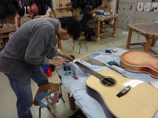 製作修理本科 アコースティックギターコース