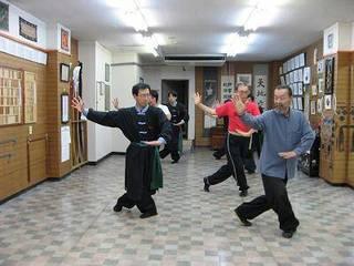 八卦掌 伝統武術を学び、自分の心と体を健康にしていきたい。