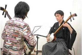 日本の伝統楽器《長唄三味線》個人レッスンコース♪