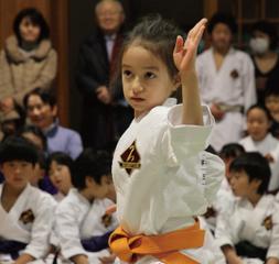 東京空手倶楽部 日本橋教室(子供クラス)