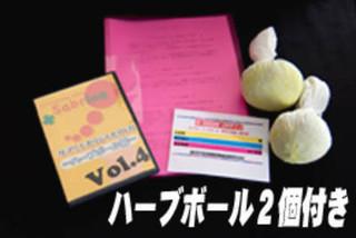 114480円→24800円【友達割引有】ハーブボール通信!DVD、材料付★修了証ディプロマ発行