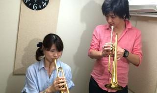 業界初!好きな曲の楽譜をカスタマイズ!初心者も経験者もトランペットで吹きたい曲なんでもOK!新宿☆