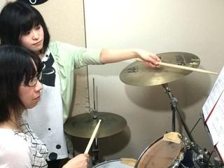 無料体験レッスン!初心者の為のドラム教室☆ロック・ジャズ・クラッシック等お好きな曲でレッスン 新宿