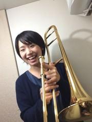 まずは楽器を吹いてみましょう☆トロンボーン体験☆