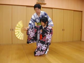 【ワンコイン体験♪】着物をきて日本舞踊に触れてみましょう!【多摩校】