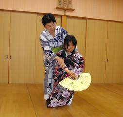 【ワンコイン体験♪】着物をきて日本舞踊に触れてみましょう!【京都壬生本校】