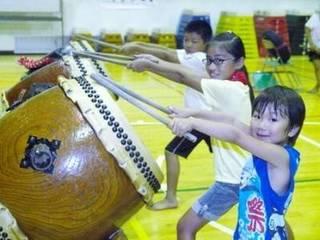 子供の和太鼓教室