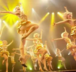 テーマパークダンス教室