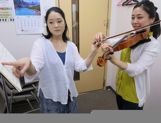 宮地楽器MUSIC JOY渋谷&nbsp【ヴァイオリン教室 渋谷】音楽教室 レッスン