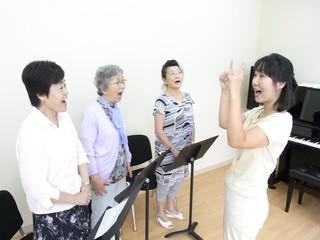 【少人数で歌う♪はじめての声楽レッスン】コース