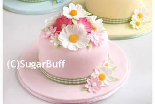 【1日体験】シュガークラフトで作る☆デイジーとマーガレットの帽子のケーキ