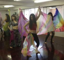 【東京・高田馬場】のベリーダンス教室ならここ!【初心者】大歓迎!火曜開催!超入門クラス☆