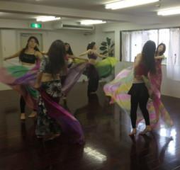 【東京・高田馬場】でベリーダンス教室ならここ!振付を覚えるにはこのコース!振付コース