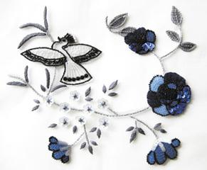 パリのオートクチュール クロッシェ・ド・ルネヴィル(刺繍)【土曜 午前/午後 32,000円】